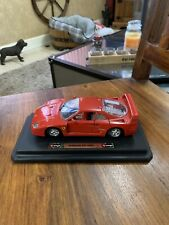 Burago 1:24 scale Ferrari f40 (1987) Red Boxed