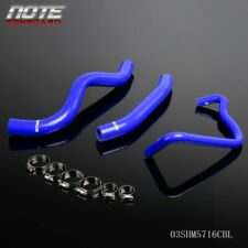 Silicone Radiator Hose Clamps Kit For Honda Cb600F Hornet 98-02 Blue