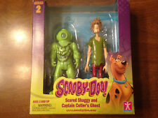 WB Scooby Doo Scared Shaggy and  Captain Cutler's Ghost Series 2 Figures NIB