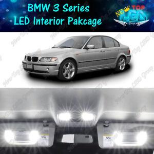 16x White LED Interior Light Package Kit For 1999 - 2005 BMW 3 Series M3 E46