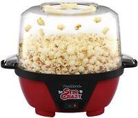 West Bend 82505 Stir Crazy Electric Hot Oil Popcorn Popper Machine with Stirr...