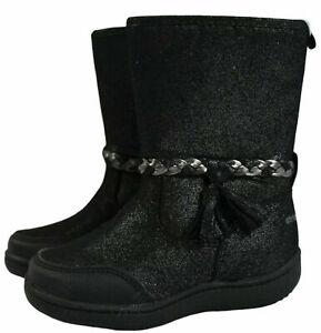 NWOB Stride Rite 360 Toddler Girls Size 10M Amita Fashion Boot Black Fall/Winter