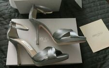 Jimmy Choo Satin Strappy, Ankle Straps Heels for Women