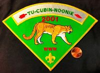 TU CUBIN NOONIE LODGE OA 508 UTAH NATIONAL PARKS 2001 PIE P1 NECKERCHIEF PATCH