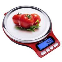 Bilancia da Cucina Digitale in Acciaio Inox 3Kg Bilancia da Cucina Elettric K9T7