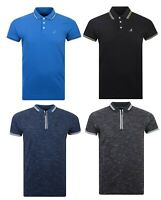 New Kangol Pique Polo T Shirt Top Short Sleeve Cotton Collar Crew Neck BigSizes
