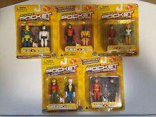 10 Pc LOT OF DC COMICS MOC POCKET SUPER HEROES SERIES 1
