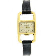 W452- Vintage 18K Yellow Gold Jaeger Le Coultre - Unique Case Ladies Watch