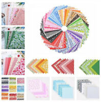 7PCS Mixed 100/% Cotton Fabric Material Value Bundle Scraps Offcuts Quilting UK