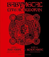 BABYMETAL - LIVE AT BUDOKAN: RED NIGHT & BLACK NIGHT  BLU-RAY NEU
