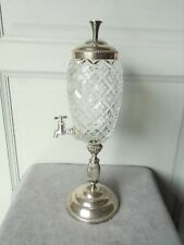 1960s French Vintage  Cutted Glass ABSINTHE FOUNTAIN