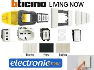 Stock Living Now Bticino prese interruttore pulsanti placche OFFERTA COMPLETA