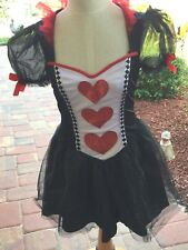 Womens Queen of Hearts Costume Sexy Short 23106