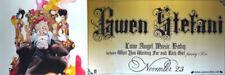 Gwen Stefani (Love Angel Music Baby) Original Music Poster