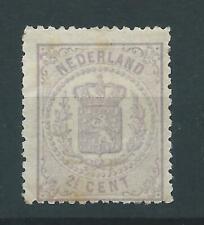 1869 Nederland Wapenserie NR.18 ongebruikt net zegel zie foto's..