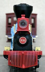 MTH Rail King Pennsylvania 4-4-0 General Steam Engine,Item # 30-1342-1,Vintage
