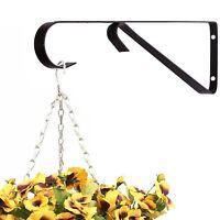 Hanging Basket Bracket Garden Flower Plant Planter Metal Chain Hook Home House