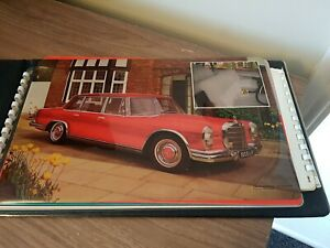 Vintage Mercedes Transgraph System salesmans Book Advertising