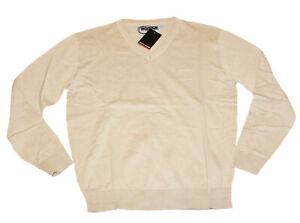 PIERRE CARDIN Pullover Pulli beige 100% Baumwolle Gr. XL 54 / 56 neu