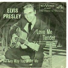 ELVIS PRESLEY   Love Me Tender   Picture Sleeve     Sleeve Only