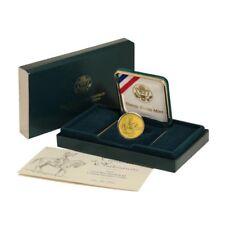 USA  Civil War Commemorative Gold Coin $5 1995 BU Mint Box and COA