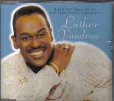 Luther Vandross-When You Call On Me cd maxi single