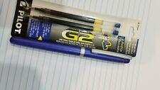 Rotring Rollerball Pen. Freeway Matte Blue & Silver Trim w/refills