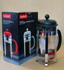 BODUM CAFFETTIERA - 8 Cup 1L 34fl oz -COFFEE MAKER -  FRENCH PRESS NEW-RRP:£56