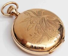 Watch - Excellent & Working Fine 1907 Elgin Ornate Antique Hunting Case Pocket