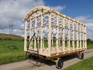 Shepherds Hut Framework  4.2m (L)  x 2.59m (W) x 2.668m (H) including End Walls