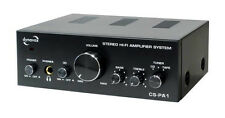 Black 2 Audio Power Amplifiers