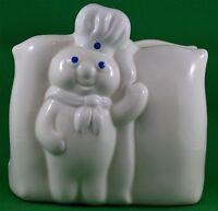 Vtg 1988 Pillsbury Doughboy Ceramic Napkin Holder