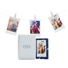 Fuji INSTAX mini Link Smartphone Printer Bundle - Ash White