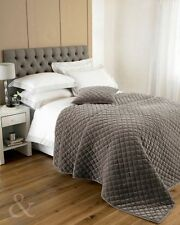 Just Contempo Velvet Decorative Quilts & Bedspreads