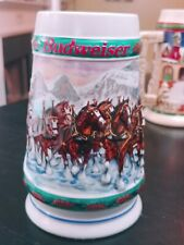 Budweiser Anheuser Busch Beer Mug 93 Holiday stein Collectors Series sp delivery