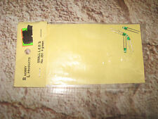 Vintage Model Rail Railroad BL Hobby Products Small LED Green (4) 251