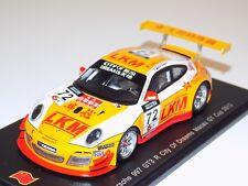 """1/43 Spark Porsche 911 """" 997 """" GT3 R Car #72 2013 Macau GT Cup SA049"""