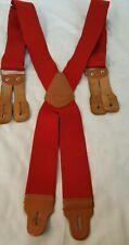 """Carhartt Dungaree Suspenders 2"""" Adjustable Button Suspender Belt"""