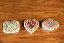 1990 Heritage House Ltd Ed Music Boxes Love Songs To Remember Series Lot Of 3.