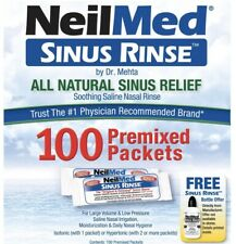 NeilMed Sinus Rinse Refill Packets, 100 packs