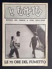 IL FUMETTO supplemento al n° 19 (1975) Le 72 ore del fumetto di Bologna