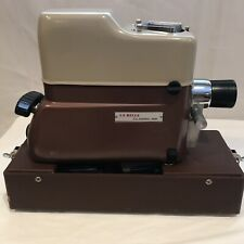 Vintage La Belle Automatic Slide Projector Model 58 From 1950's With Case