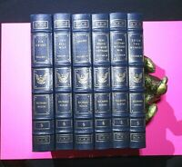 SIGNED Richard Nixon 6 Volume Set Leather Bound Easton Press w Seize The Moment