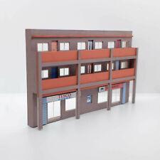 More details for 1/76 oo gauge model railway low relief shops & flats laser cut kit (la-oo-003)