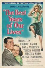 The Best Years of Our Lives Poster/The Best Years of Our Lives Movie Poster/Mo