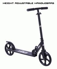 Kick Scooter Larger Wheel Over Size Deck Rubber Grip Lightweight Glides Aluminum
