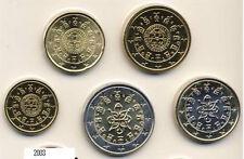 Portugal KMS   EUROSET 10c-2e year 2003  5   coins  UNC