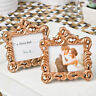 10 x Rose Gold Vintage Baroque Design Place Card Holder Wedding Table Event SF