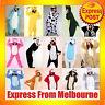 Animal Onesies Kids Adult Unisex Kigurumi Cosplay Costume Pyjamas Pajamas AU