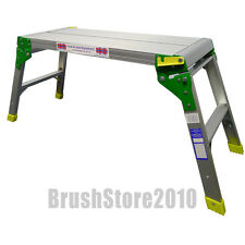 Hop Up 30cm Professional Decorators Work Platform Step Bench Aluminium 150kg
